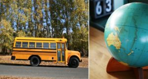 Old School Bus Transformation vacation home