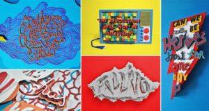 Paper Sculptures People's Behavior