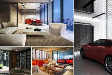 garage inside condo