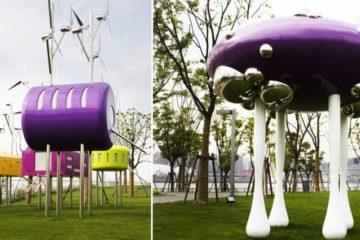 colorful Pavilions Shanghai