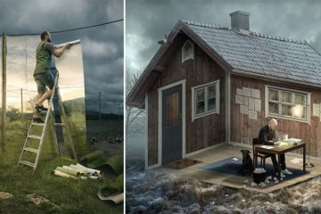 Photoshopped Optical Illusions