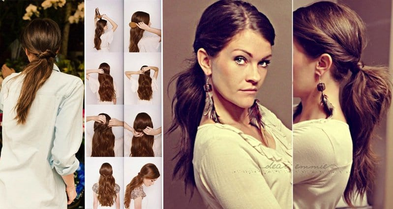 Hairstyles for uncut hair : 16 Creative Hair Styles For Long You Can Do In Just 5 Minutes