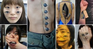 Realistic Creepy Body Art