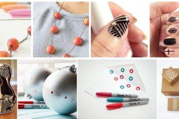 Sharpie decorating items