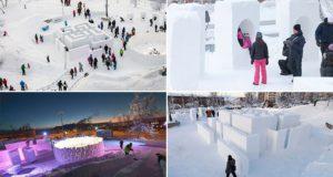 Snow And Ice Playground