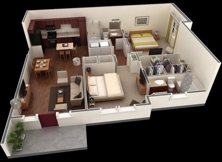Springs-Apartment-one floor