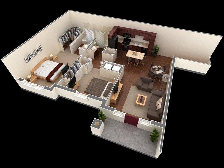 2 Bedroom House Plans Open Floor Plan 2020 Auto Car Release Date,Futuristic Interior Design Minecraft