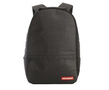 Stashed Money Backpack black