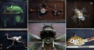 Steampunk Animals And Machines