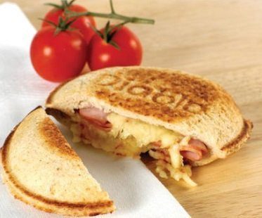 Stovetop Toasted Snack Maker sandwich ham cheese