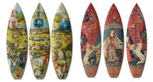 Surfboard Ancient Tapestries