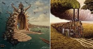 Surreal Paintings Jacek Yerka