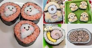 cute Sushi Designs