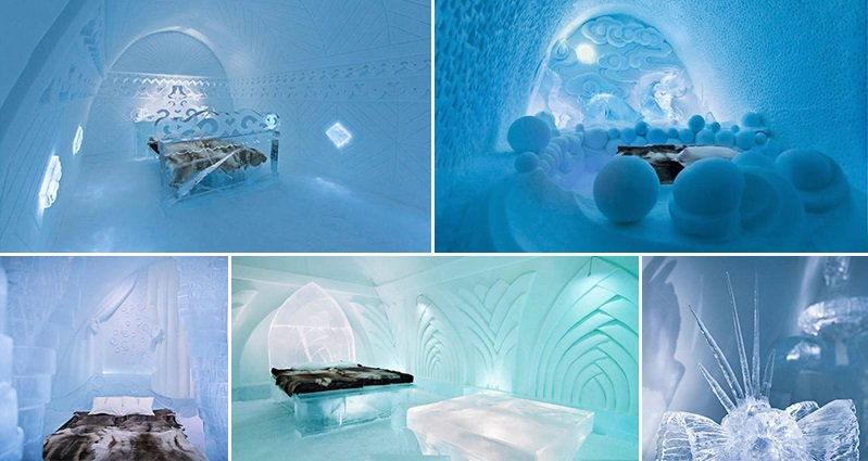 Check Out The Amazing Ice Hotel That Only Lasts A Winter