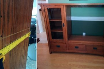 TV Cabinet upcycled