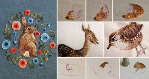 Tiny Embroidered Animals