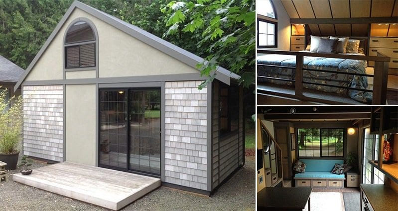This Tiny House Is Too Cute For Words And Functional Too