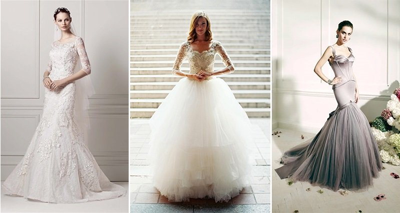 10 Wonderful Bridal Gowns For Winter Weddings