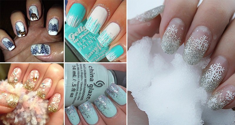 17 Wonderful Winter Nail Designs You Need To Try – Part 1 - 17 Wonderful Winter Nail Designs You Need To Try - Part 1