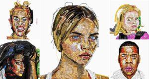 Yung Jake Celebrity emoji Portraits