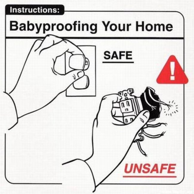 babyproofing home