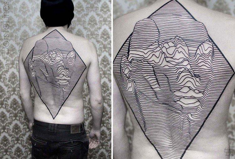 back diamond tattoo