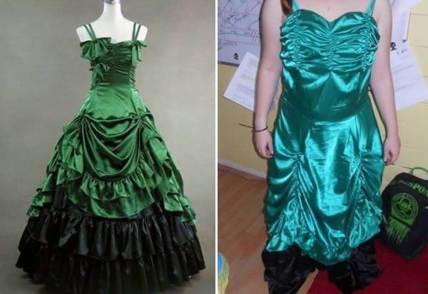 bad green dress good