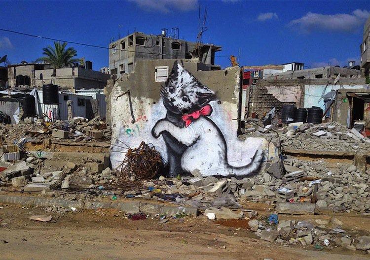 banksy-cat