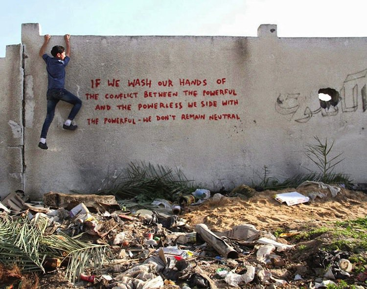 banksy-powerful
