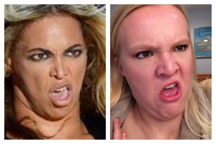beyonce face