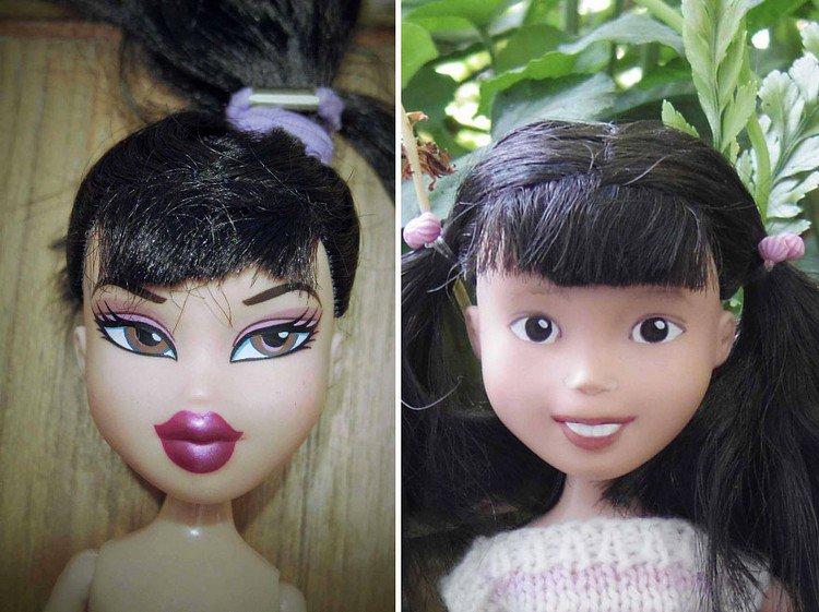 black haired bratz doll