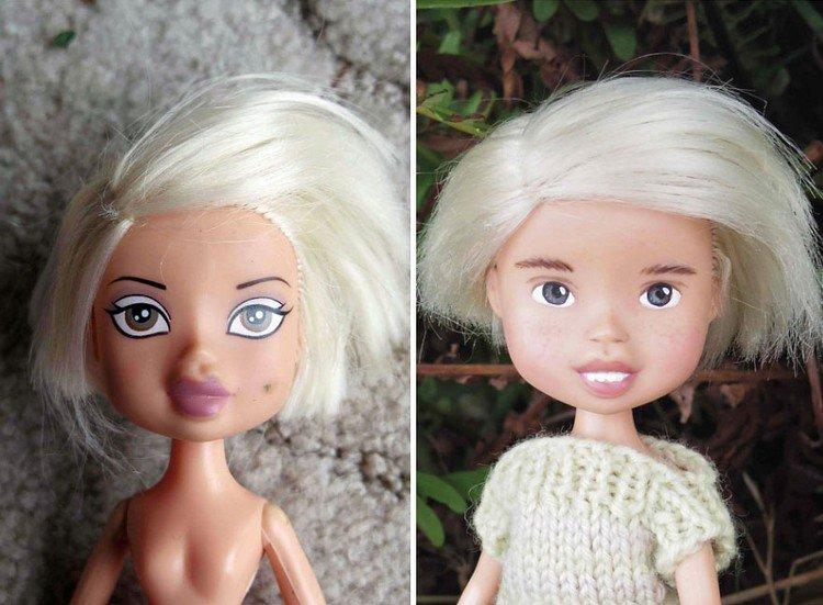 blonde bob doll
