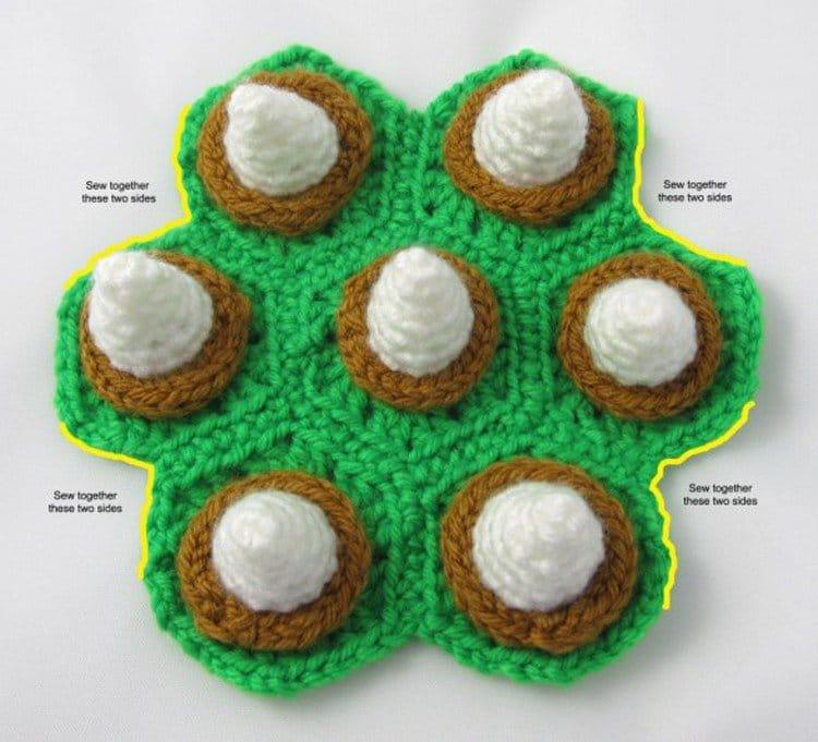 bowser shell instructions crochet