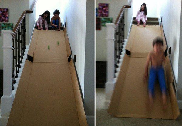 box slide kids