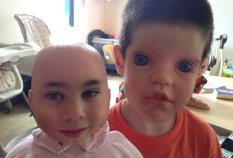 boy doll face swap
