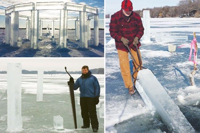 building-icehenge