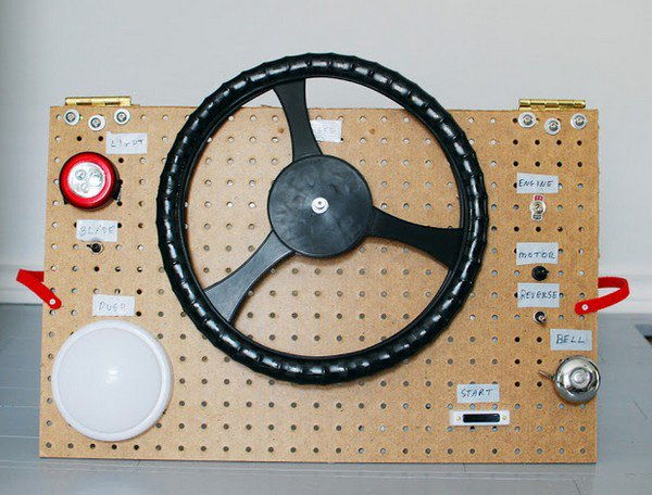 car steering wheel