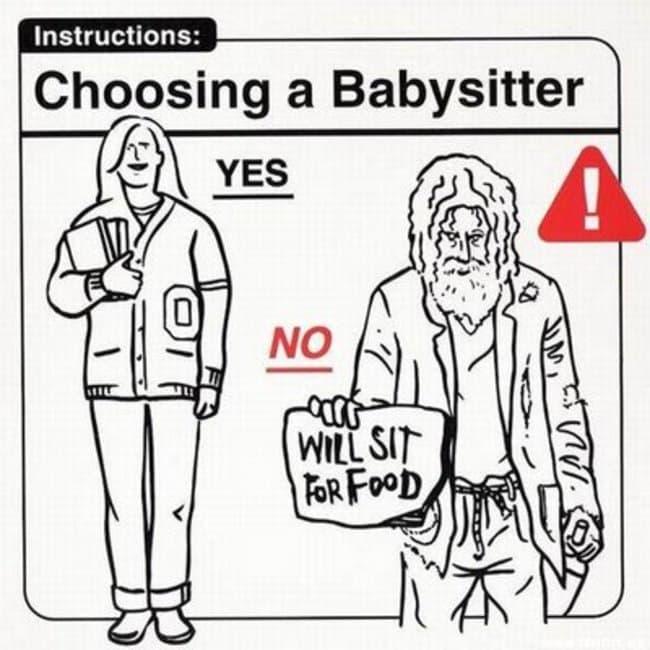 choosing babysitter