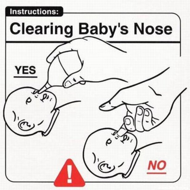 clearing baby nose