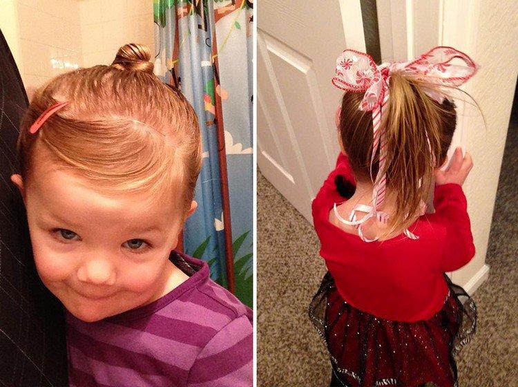 cute girl hair do