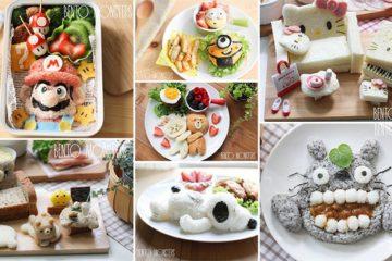cute japanese inspired food