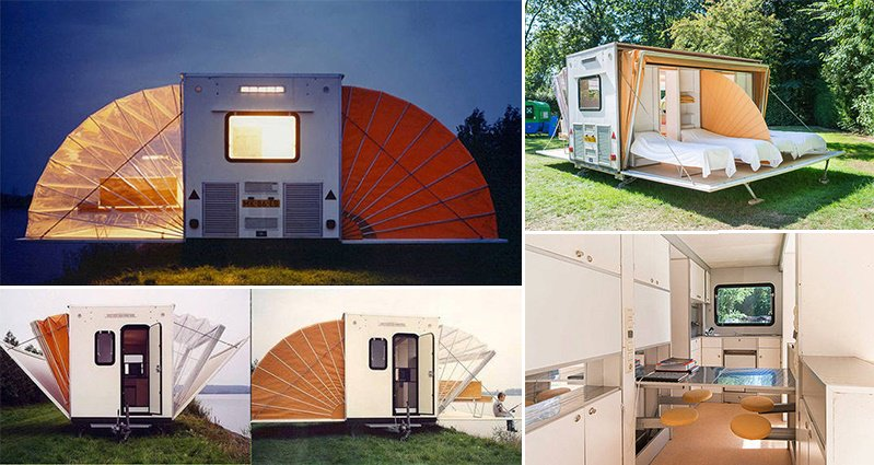 de markies Collapsible camper