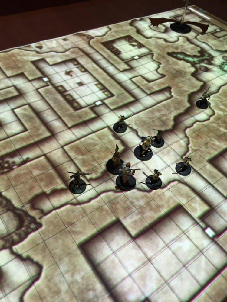 digital map d d