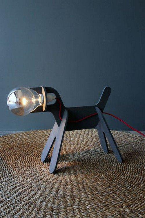 dog bulb head lamp