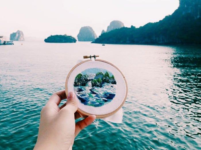 embroidered-travel-scenes-teresa-lim-ha-long-bay
