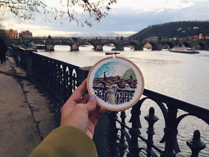 embroidered-travel-scenes-teresa-lim-prague-charles