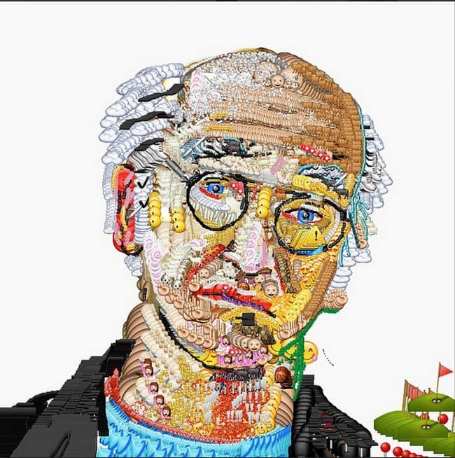 emoji larry david