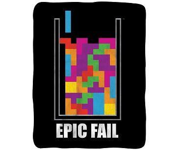 epic fail tetris blanket