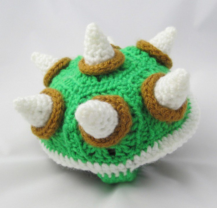 finished bowser shell