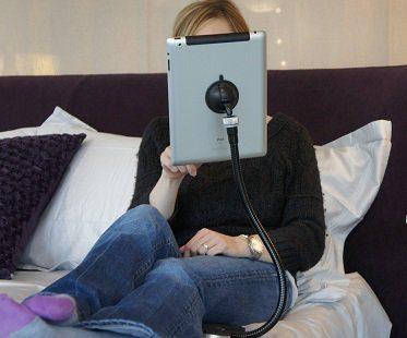 flexible tablet stand bedroom